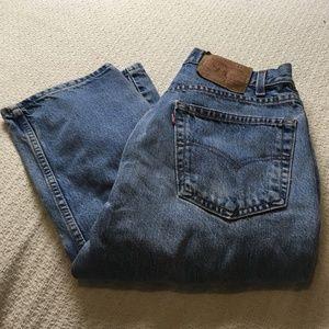 Levi's 505 Regular Fit Straight Leg Jeans 32x34